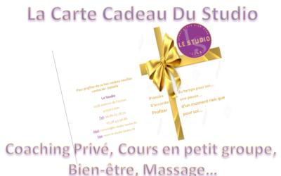NOEL, La Carte Cadeau Bien-être Du Studio Landes