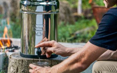 Système Berkey® mon purificateur d'eau, à la maison, au Studio, et même en vacances